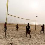 Beach side game